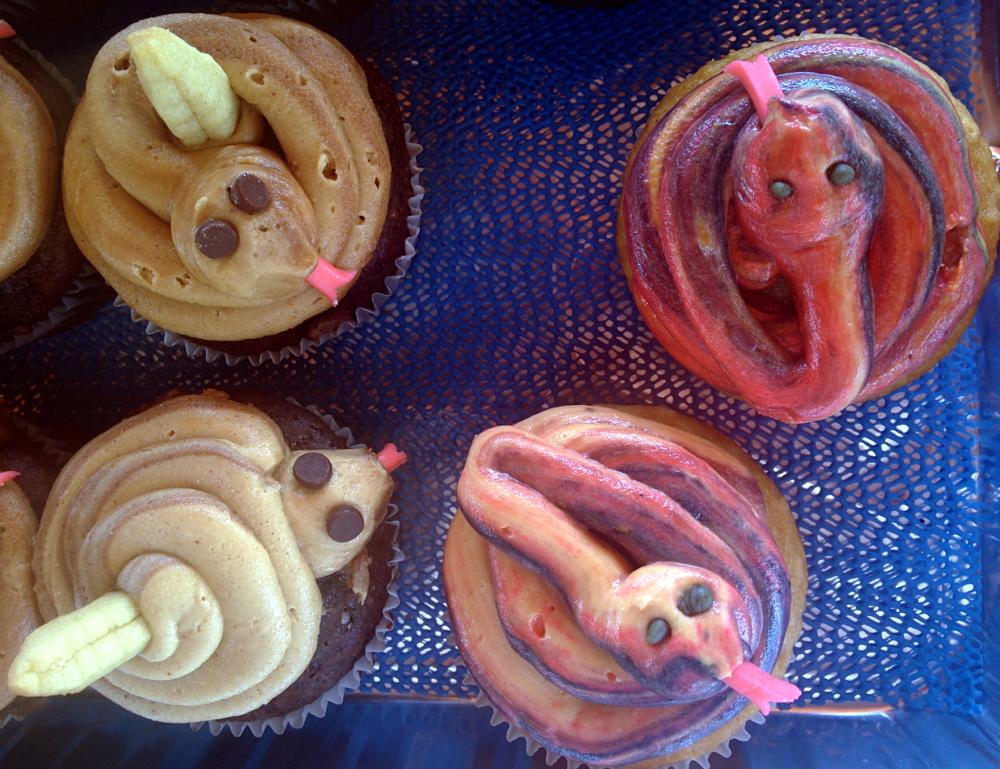 snake-cakes