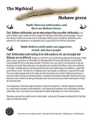 Mohave Factsheet