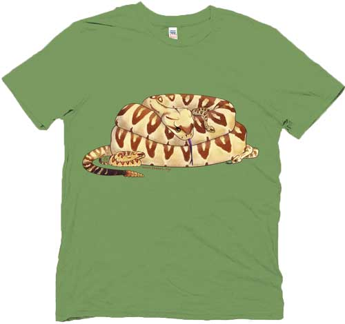 Black-tailed Rattlesnake Family t-shirt
