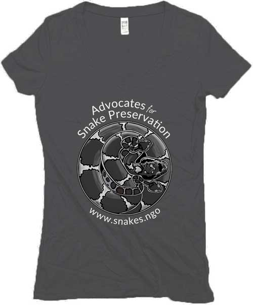 Dark women's v-neck