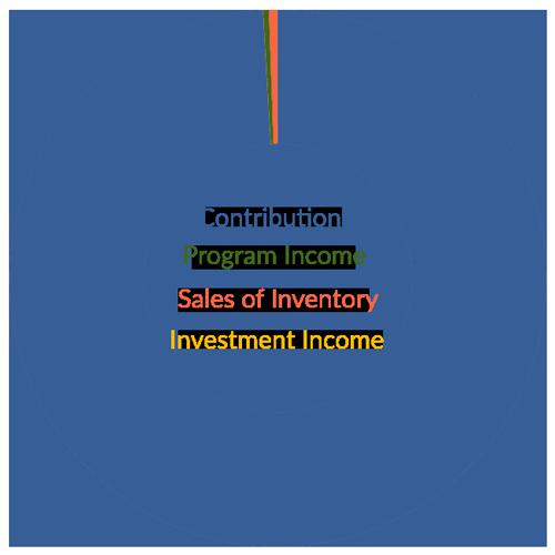 Income Pie Chart 2019